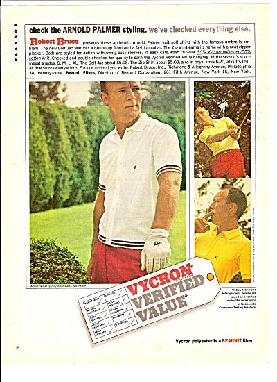 Vycron polyester - ARNOLD PALMER   ad 1964 (Image1)