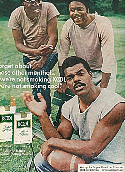 Kool cigarettes ad 1978 BLACK AMERICANA (Image1)