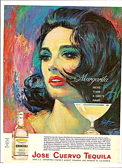 Jose Cuervo tequila ad 1964 (Image1)