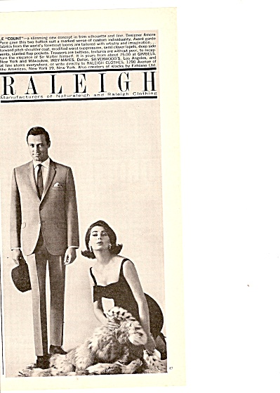 Raleigh clothing ad 1964 (Image1)
