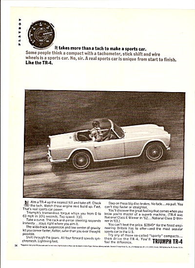 Triumph TR-4 autoad 1964 (Image1)