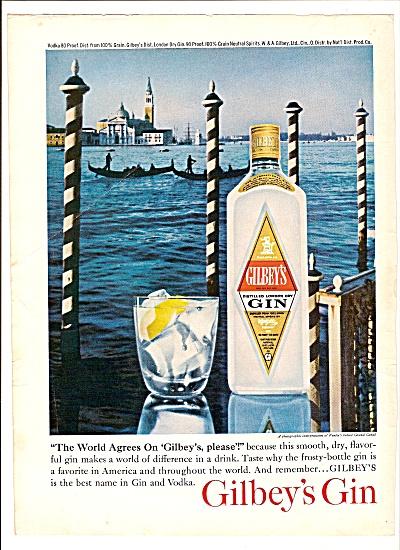 Gilbey's sGin ad 1964 (Image1)