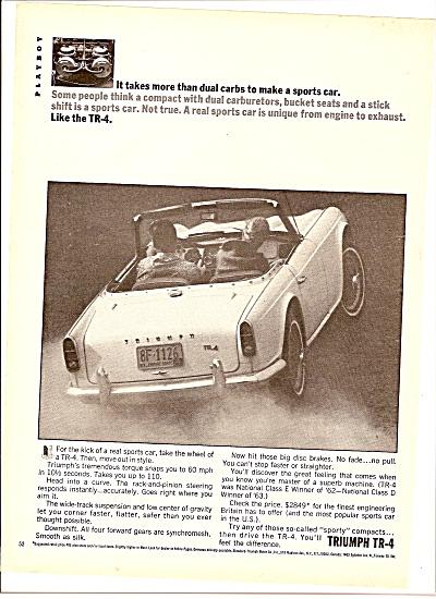 Triumph TR-4 ad 1964 (Image1)