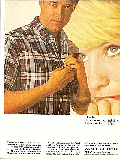 Van Heusen shirts ad 1964 (Image1)