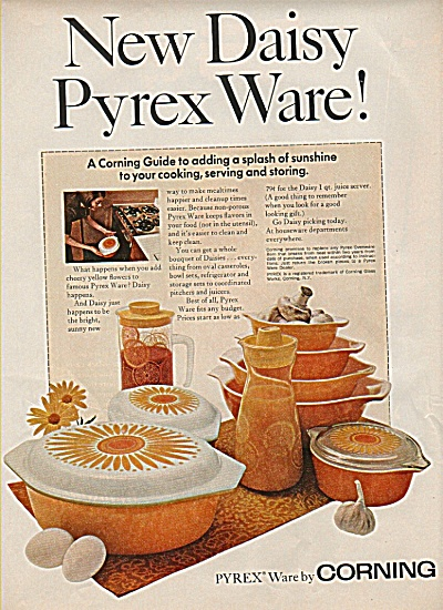 Pyrex ware by Corning ad 1968 (Image1)