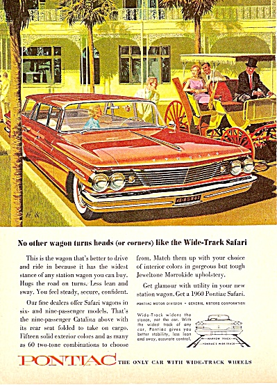 Pontiac wide track auto ad 1960 (Image1)