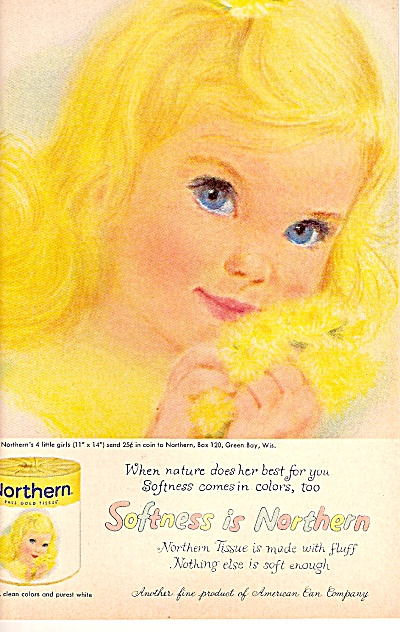 Northern tissues  ad 1960 (Image1)