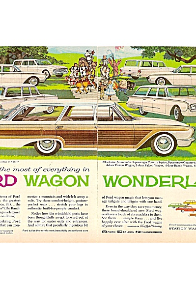 Ford Falcon and other wagons ads 1960 (Image1)
