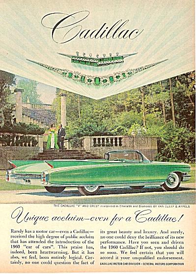Cadillac auto ad 1960 (Image1)