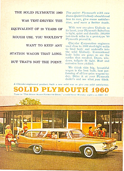 Plymouth Station wagon ad 1960 (Image1)