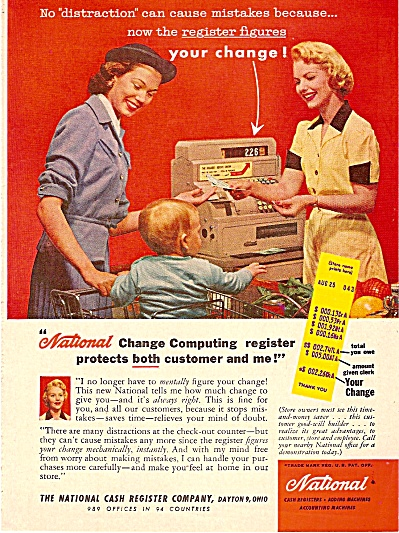 National cash registers ad 1956 (Image1)