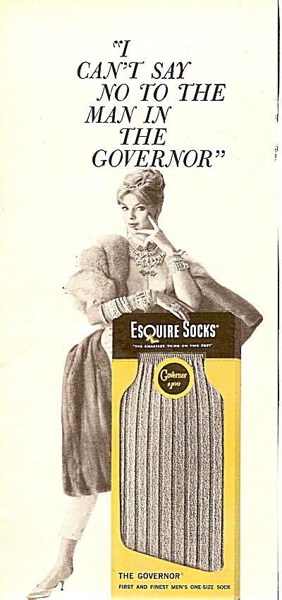 Esquire socks  ad 1960 (Image1)