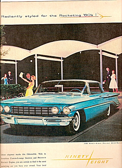 Oldsmobile Ninety Eight Ad 1960