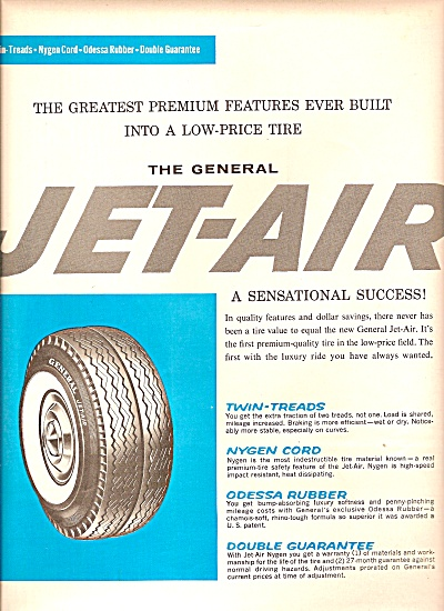 The General Tire & Rubber Company Ad 1961
