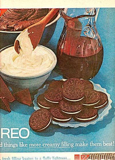 Oreo cookies ad 1961 (Image1)