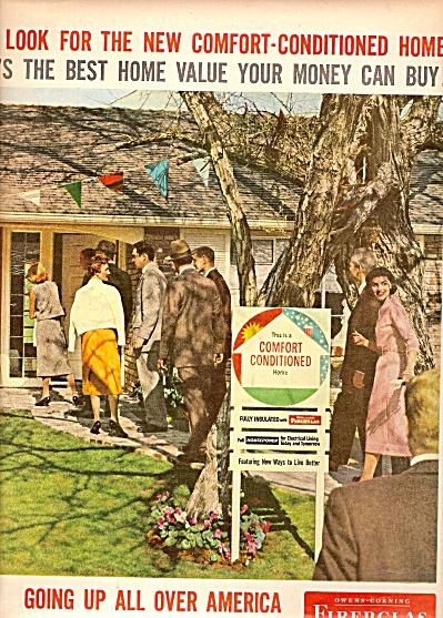 Owens Corning fiberglas ad 19558 (Image1)