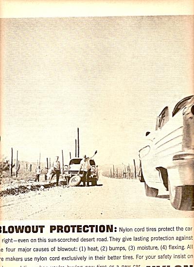 Dupont Nylon  tires ad 1958 (Image1)