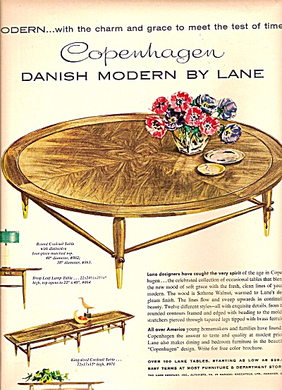 Lane Tables ad 1958 (Image1)