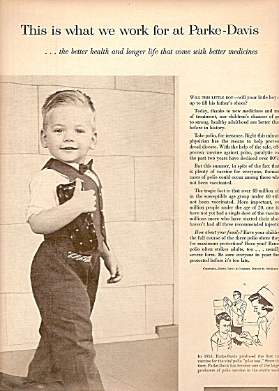 Parke-Davis medicines ad 1958 (Image1)