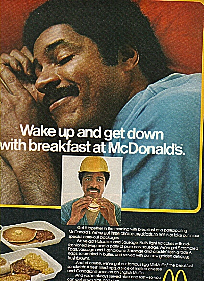 Mcdonald's Golden Arches Ad 1978 Wake Up