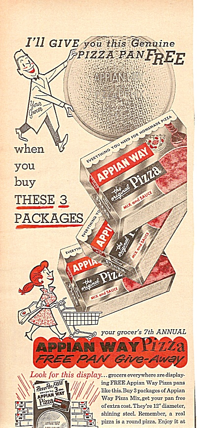 Appian way pizza ad 1958 (Image1)