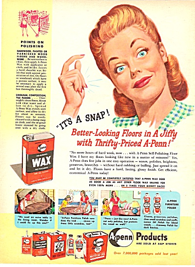 A-Penn products ad 1946 (Image1)