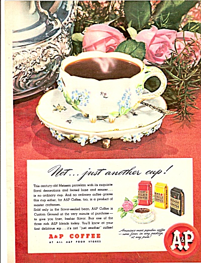 A & P Coffee ad 1946 (Image1)