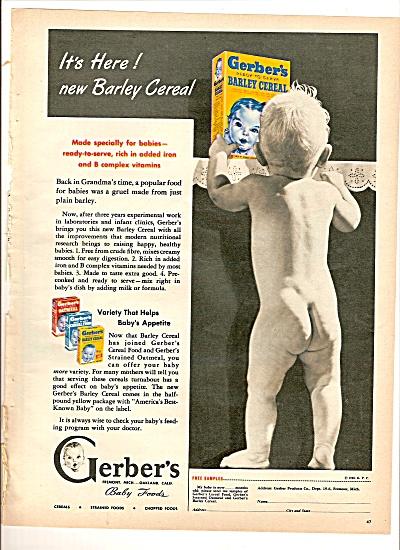 Gerber's baby foods ad 1946 (Image1)
