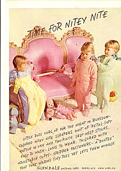 Glendale  ad 1946 LITTLE GIRLS PAJAMAS (Image1)