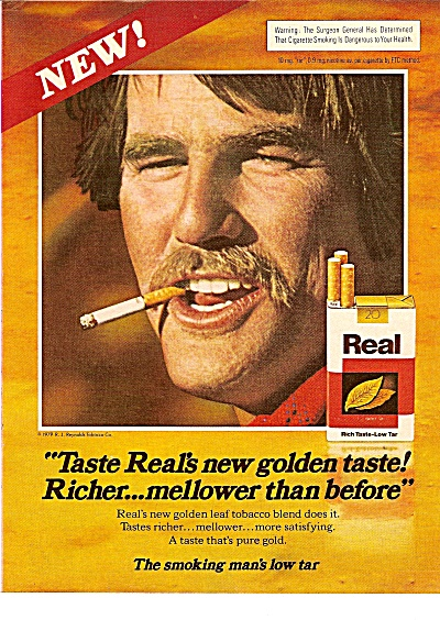 Real Cigarettes ad  1979 (Image1)