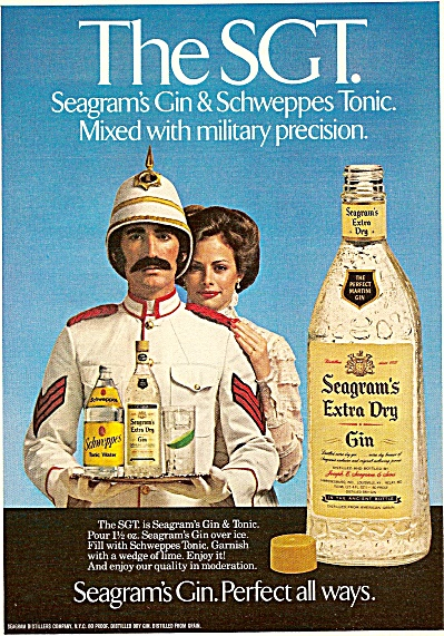 Seagram's extrey dry gin ad 1979 (Image1)