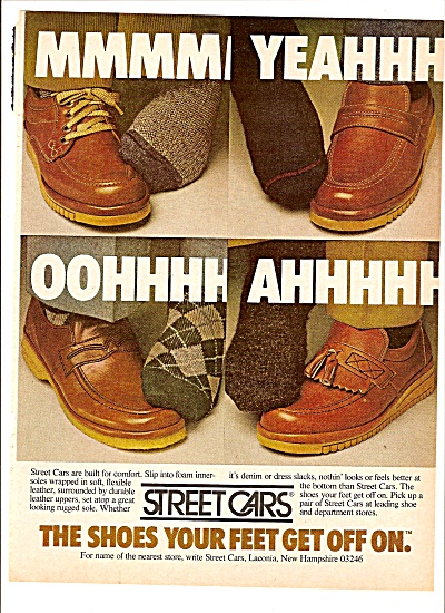 Street cars shoes ad 1979 (Image1)