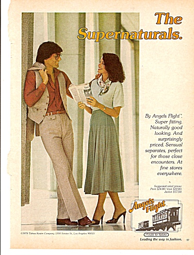 Angels Flight Clothes Ad 1979