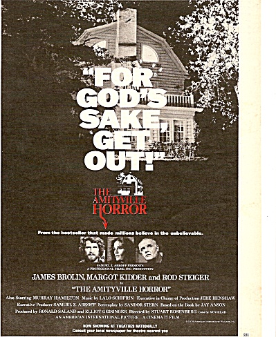 MovieAD  : FOR GOD'S SAKE GET OUT -  JAMES BROLIN 1979 (Image1)