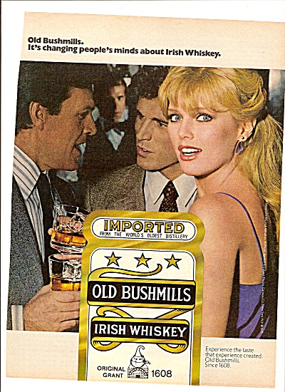 Old Bushmills Irish Whiskey ad 1979 (Image1)