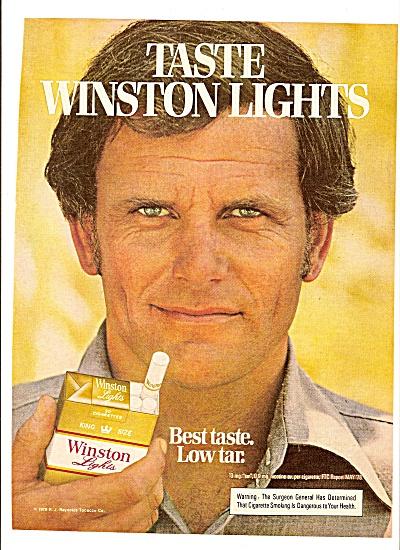 Winston lights cigarettes ad 1979 (Image1)