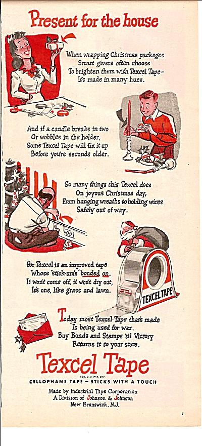 Texcel tape ad 1944 (Image1)