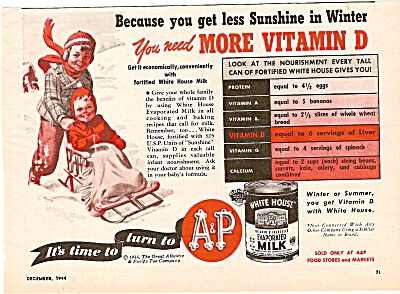 White House evaporated milk ad 1944 (Image1)