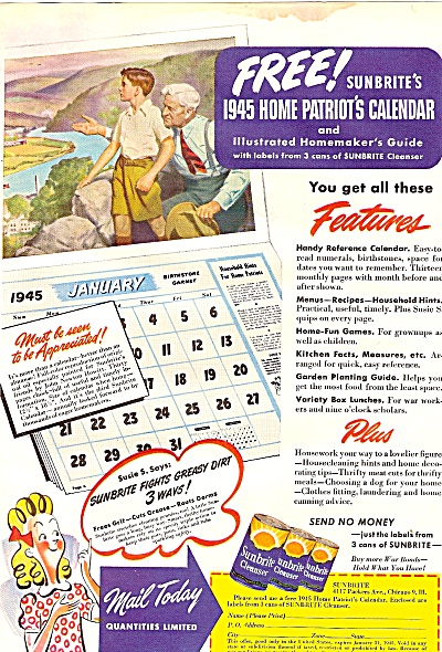 Sunbrite cleanser ad 1944 (Image1)