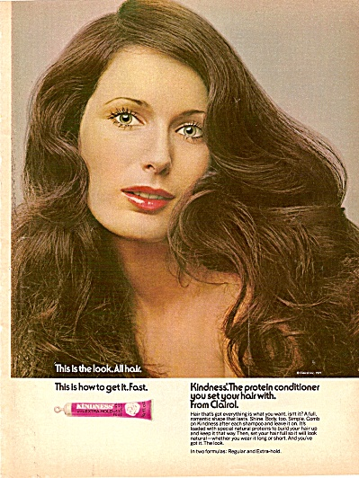Kindness - From Clairol Ad 1971