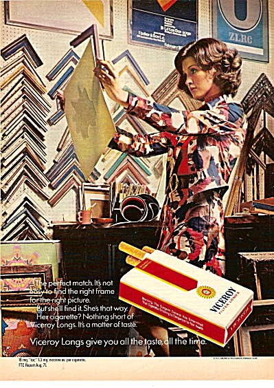 Viceroy cigarettes ad 1971 (Image1)