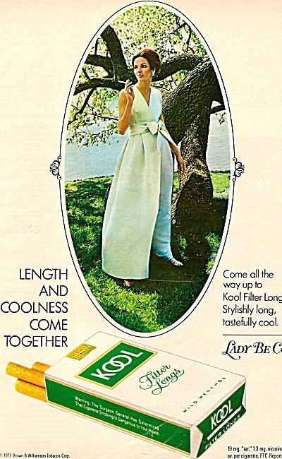 Kool cigarettes ad 1971 (Image1)