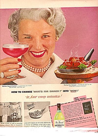 Bacardi  rum ad 1956 (Image1)