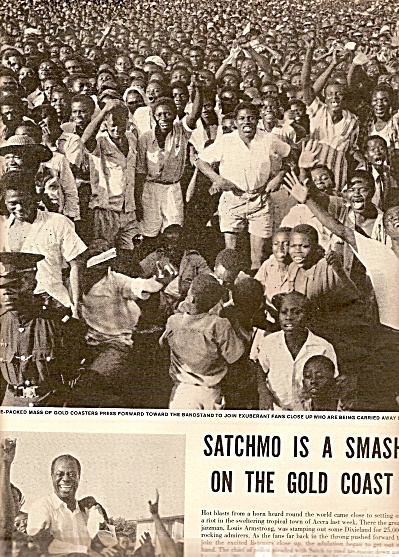 SATCHMO ARMSTRONG -smash on Gold Coast 1956 (Image1)