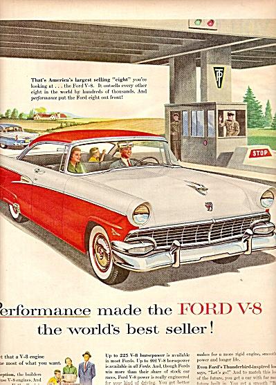 Ford V-8 ad  1956 (Image1)