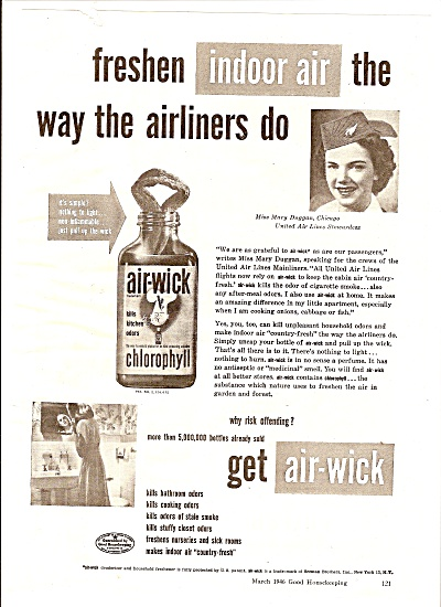 Airwick Air Freshener Ad 19465
