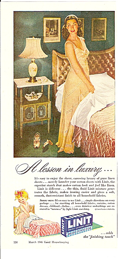 Linit laundry starch ad 1946 (Image1)