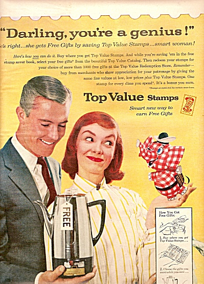 Top Value Stamps ad 1956 (Image1)