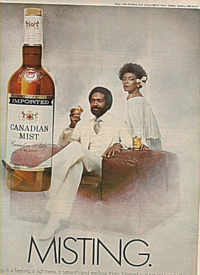 Canadian Mist Ad - 1978