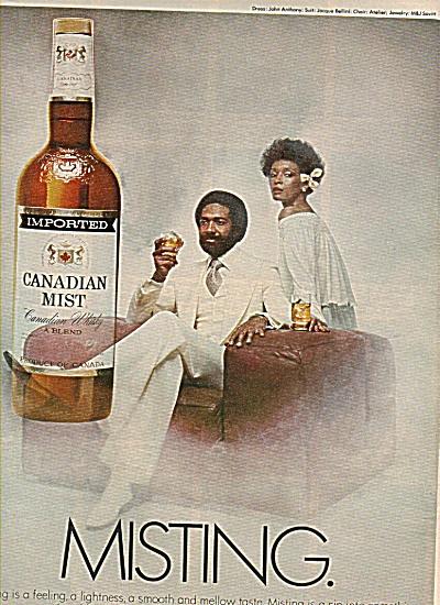 Canadian Mist ad  - 1978 (Image1)